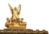Statue in Opera house in Paris — Zdjęcie stockowe