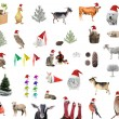New year comes, animals — Stock Photo #59019177
