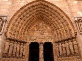 Cathedral of Notre dame de Paris — Stock Photo