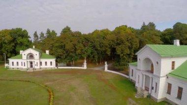 Kachanivka palace and park ensemble — Stock Video