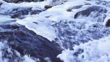 Lód Zamknij Falls — Wideo stockowe