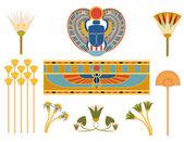 Egyptian symbols — Stock Vector