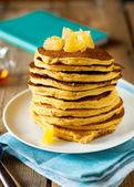 Kürbis pfannkuchen — Stockfoto