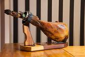 Spanish iberico ham — Stock Photo