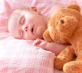 Adorable newborn baby — Stock Photo