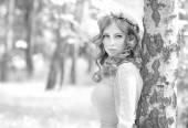 Stylish woman portrait — Stock Photo