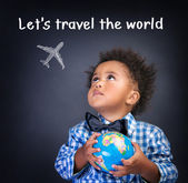 Let's travel the world — Stock Photo