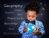 Geography lesson — Stock Photo