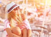 Luxury summer vacation — Stock Photo