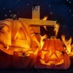 nuit d'halloween effrayant — Photo #56268561