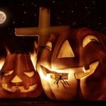 nuit d'halloween effrayant — Photo #56268571