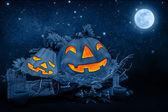 Nuit d'halloween — Photo
