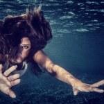 Swimming in refreshing water — Stock Photo #57552445