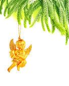 Beautiful Christmas angel — Stock Photo