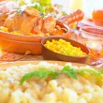 Festive dinner — Stock Photo #59025443