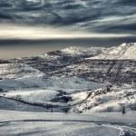 Beautiful winter mountains landscape — Stock Photo #59561375