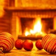 Cozy Christmas eve at home — Stock Photo #60481427
