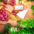 Christmas dinner at home — Stock Photo #60692815