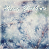 Vintage Christmas greeting card background — Stock Photo