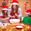 Happy Christmas cooking — Stock Photo #61826545