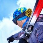 Professional skier — Stock Photo #62464601