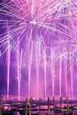 Redeemer festival of fireworks — Stock Photo
