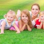 Happy big family — Stock Photo #64872323