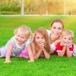 Happy family having fun — Stock Photo #66488021