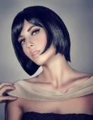 Mode modell porträtt — Stockfoto