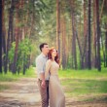 Gentle couple on romantic date — Stock Photo #69941707