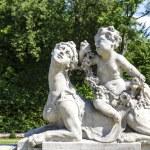 Garden Sculptures in the Wilanow park in Warsaw — Stock Photo #52275119