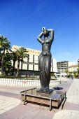 古希腊风格中的女性形象 — 图库照片