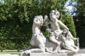 在维拉公园在华沙的园林雕塑 — 图库照片