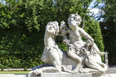 Garden Sculptures in the Wilanow park in Warsaw — Stock Photo