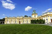 在波兰华沙的维拉的皇家宫殿 — 图库照片