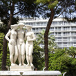 Постер, плакат: Fountain of The Three Graces in Nice