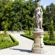 Sculpture in the Wilanow park in Warsaw — Stock Photo #52694029