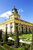 Royal Palace in Warsaw in Wilanow, Poland — Stock Photo