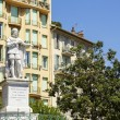 Постер, плакат: The statue of King Charles Felix in Nice