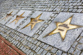 Avenue of the Stars of Sport in Wladyslawowo — Stock Photo