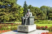 Памятник Игнаций Ян Падеревский, Варшава — Стоковое фото