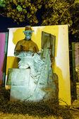 Monument to Wojciech Kossak in Jurata, Poland — Stockfoto
