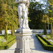 Sculpture in the the gardens in Wilanow, Warsaw — Stock Photo #55245851