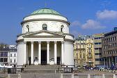 Римско-католическая церковь на площади трех Krzyzy — Стоковое фото