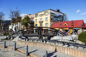 Bridge over Foluszowy Stream — Foto de Stock