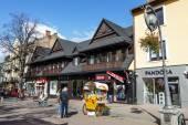 Commercial premises at Krupowki in Zakopane — Stock Photo