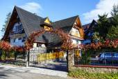 Villa named Orzel in Zakopane — Stock Photo