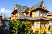 Wooden villa named Matylda in Zakopane — Stock Photo
