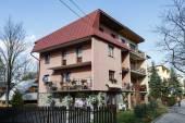 Villa made of brick in Zakopane, Poland — Stock Photo