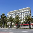 The Hotel West End and Promenade des Anglais, Nice — Stock Photo #58526913